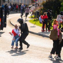 Baltarusijos VRM skelbia, kad sekmadienį sulaikyti 442 žmonės