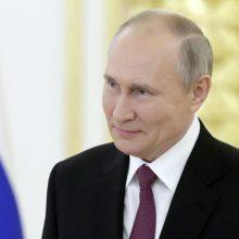 V. Putinas: Rusija pasirengusi bendradarbiauti su Lietuva geros kaimynystės principų pagrindu