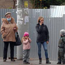 Rusijoje užfiksuotas naujas užsikrėtimo koronavirusu atvejų rekordas