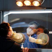 Pietų Korėja tikisi iki lapkričio pasiekti kolektyvinį imunitetą