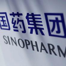 Kinijos bendrovė teigia, kad jos vakcinos nuo COVID-19 veiksmingumas siekia 79 proc.