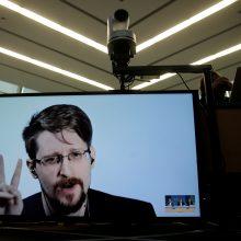 JAV žvalgybos paslapčių viešintojo E. Snowdeno vaikas turės Rusijos pilietybę