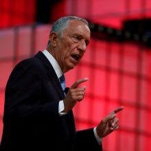 M. Rebelo de Sousa sausį sieks antros kadencijos Portugalijos prezidento poste