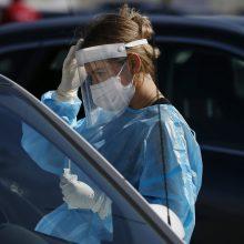 Bulgarijoje vėl užfiksuotas užsikrėtimo koronavirusu atvejų rekordas