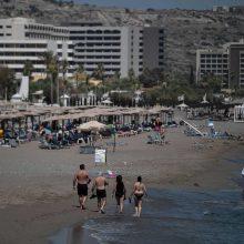 JT: masinis turizmas Viduržemio jūros regione smarkiai kenkia aplinkai