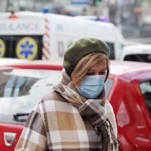 Ukrainoje per parą nustatyta 12,5 tūkst. COVID-19 atvejų, mirė 221 pacientas