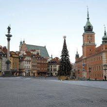 Lenkijoje – 7,8 tūkst. naujų COVID-19 atvejų, 386 pacientai mirė