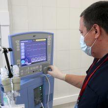 Pritrūko deguonies: Rusijos ligoninėje galimai užduso keliolika COVID-19 pacientų