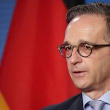 Vokietija pasisako už tolesnes sankcijas Baltarusijai
