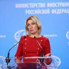 Maskva skelbia plečianti juodąjį ES pareigūnų sąrašą