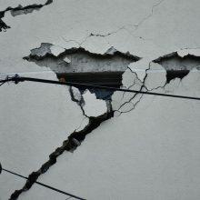 Prie Taivano krantų įvyko 6,2 balo stiprumo žemės drebėjimas
