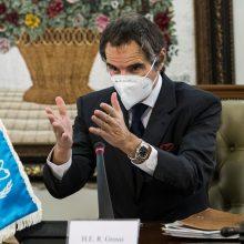 Iranas ir TATENA pasiekė laikiną sprendinį dėl branduolinių objektų patikrų