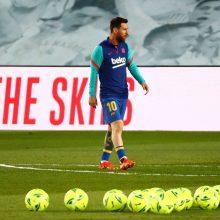 Futbolininkas L. Messi jau priėmė sprendimą dėl savo ateities?
