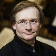 Kultūros ministras sveikina dirigentą R. Šerveniką 55-ojo gimtadienio proga