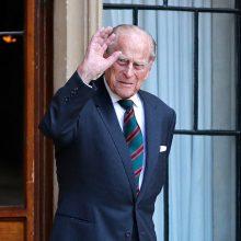 Princui Philipui sėkmingai atlikta širdies procedūra