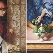 """Freska perkelta ant drobės: B. Rutkausko paroda """"Paslaptis. Iliuzija ir realybė"""""""