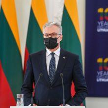 G. Nausėda tikisi, kad pavyks užkirsti kelią Astravo elektrai