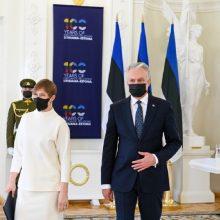 Lietuvos ir Estijos prezidentai ieškos galimybių sinchronizacijos projektą užbaigti anksčiau