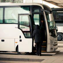 """""""Linava"""": tarpmiestinio keleivinio transporto įmonės per pandemiją patyrė didelius nuostolius"""