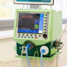 Vilniaus miesto klinikinėje ligoninėje – du nauji deguonies aparatai