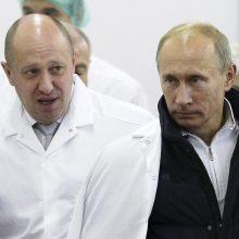 """""""Putino virėjas"""" J. Prigožinas reikalauja FTB išbraukti jį iš ieškomų asmenų sąrašo"""