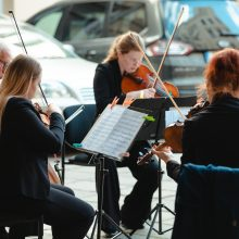 Kartu su likusiais miestais Kaunas dėkojo muzikos skambesiais