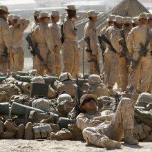 D. Trumpas: JAV toliau mažins savo karinį buvimą Irake