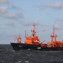 Būtingėje išsiliejo nafta: į pagalbą pasitelkė sraigtasparnį ir Karines jūrų pajėgas