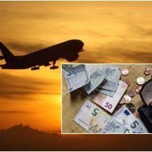 Sprendimas: oro linijų bendrovė keleivei turės sumokėti už atidėtą skrydį