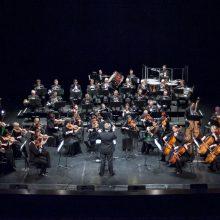 """Dirigentas T. Ambrozaitis: poema """"Miške"""" nutapyta natomis ant penklinės"""