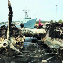 Lenkai įžvelgia grėsmes Baltijos jūroje: ką daryti su karo laikų laivų liekanomis?