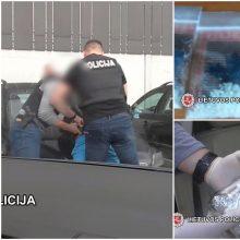 Narkotikų platintojas Klaipėdos kriminalistams įkliuvo su įkalčiais rankose