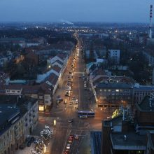 Šiaurinės miesto dalies šviestuvų laukia modernizacija