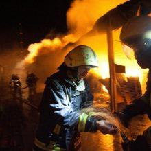 Nerami naktis Klaipėdos rajone: liepsnos naikino būstus