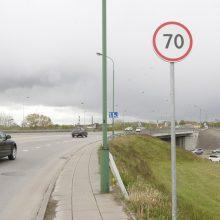 Greičio mėgėjams – prastos žinios: uostamiesčio gatvėse mažinamas leistinas greitis