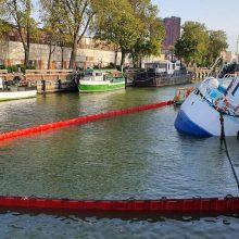 Savaitgalį – incidentas Klaipėdoje: kodėl į Dangės upę grimzdo istorinis laivas?