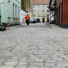 Klaipėdos senamiestyje bus atnaujintos gatvės: skirs daugiau kaip milijoną eurų