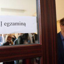 Egzaminų rezultatai Klaipėdoje: džiugina šimtukais, tačiau koją kišo matematika