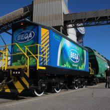 Krovos kompanijos kuriamos inovacijos mažina uosto emisijas