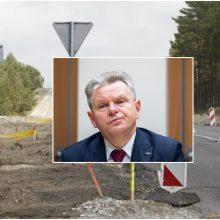 J. Narkevičius: kelias iš Smiltynės į Nidą bus atnaujintas