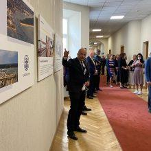 Susisiekimo ministerijoje – Klaipėdos jūrų uosto inovacijų paroda