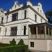 Atnaujinti Grafų Tiškevičių rūmai: atgimė istorinė veranda