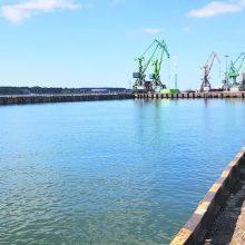 Rengiamasi rekonstruoti Žiemos uosto įlanką