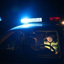 Klaipėdos rajone automobilis kliudė žmogų: prireikė medikų pagalbos