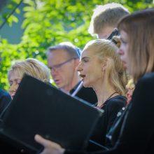 Paskutiniai Klaipėdos koncertų salės vasaros ciklo akordai
