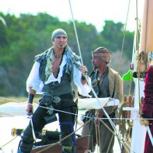 Mirtini spąstai juodabarzdžiam piratui
