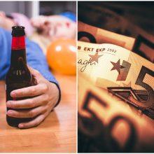 Nesėkmingas vakarėlis uostamiestyje: po išgertuvių dingo ir telefonas, ir pinigai