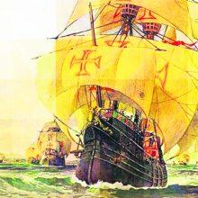 Portugalų jūrininkų kelionė: plaukė į Indiją – atrado Braziliją