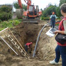 Dėl vandentiekio avarijos Klaipėdos rajone, gyventojai net dvi dienas liko be vandens