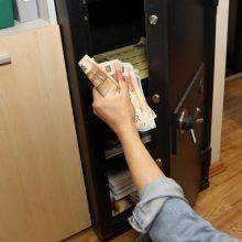 Klaipėdoje iš įmonės seifo pavogti pinigai: nuostolis – tūkstantinis